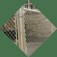 icone d'installation de clotures et d'enclos en mailles de fer